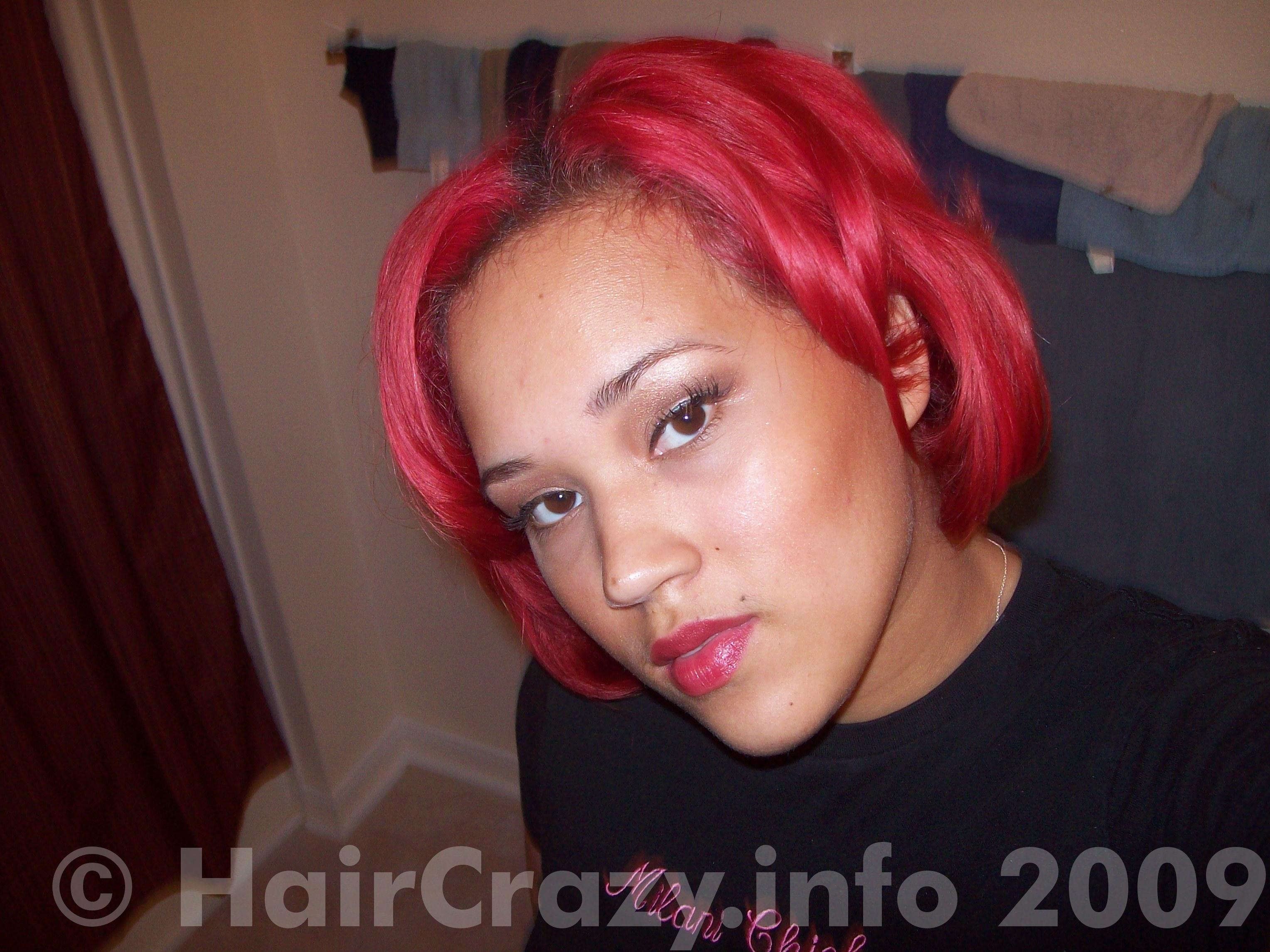 How To Get Bright Red Hair The Color Of Hot Pink Hair