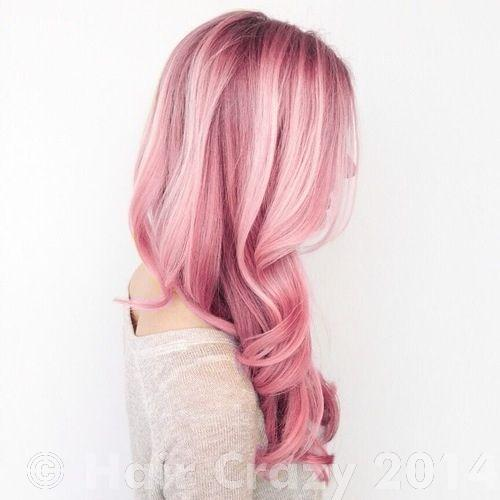 How light should your hair be for mauve/dusty pink ...