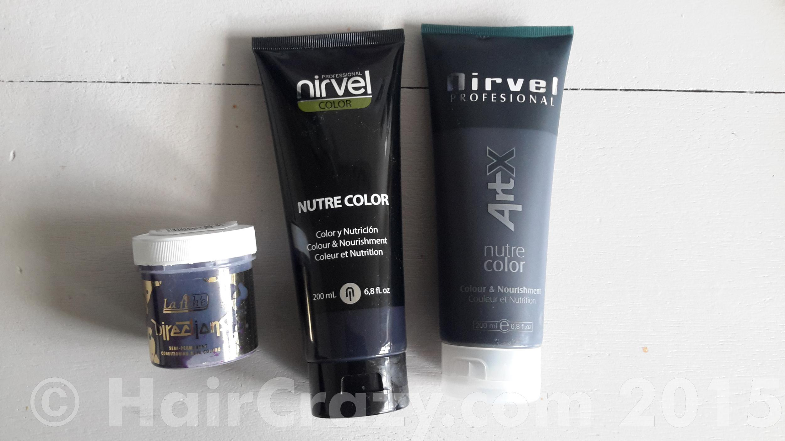 the huge tubes in comparison with a directions jar - Color Out Nirvel