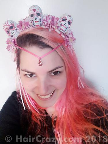 The pink nightmare (with a cute headpiece)