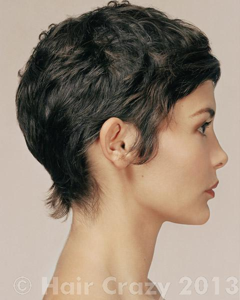 how to do a pixie cut for curly hair