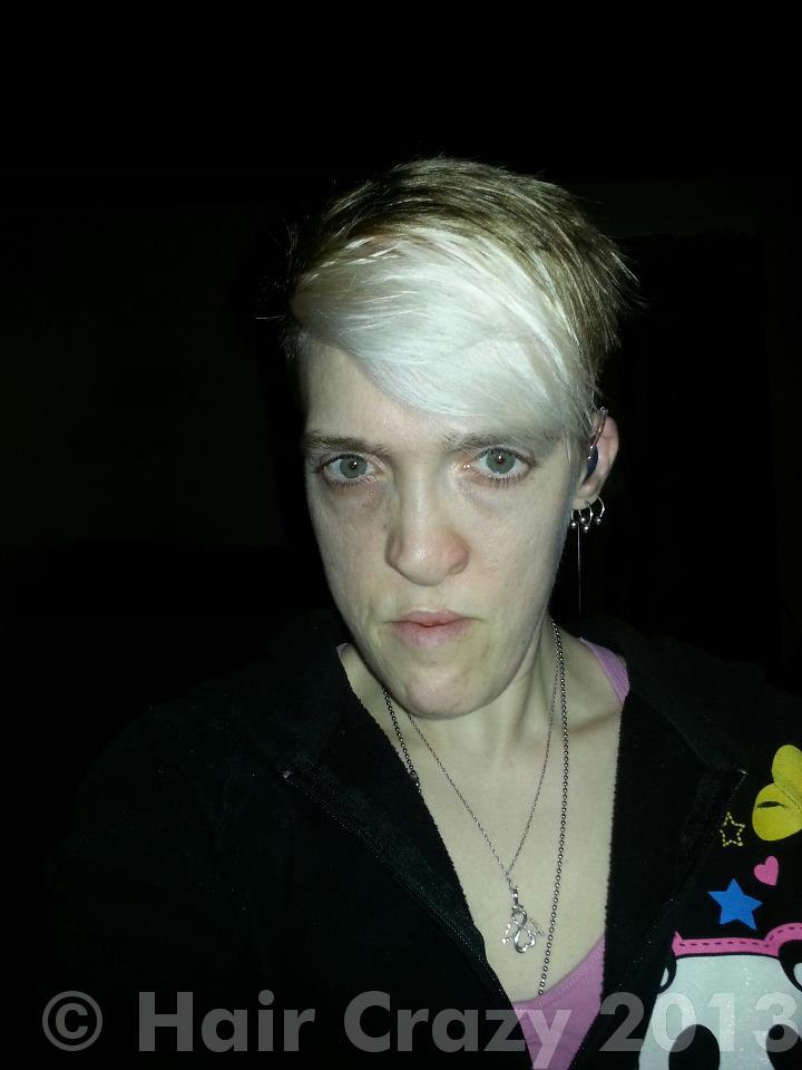 Bleached Bangs And Short Hair Forums Haircrazy Com