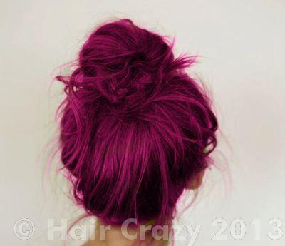 like this - Crazy Color Aubergine