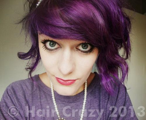 Getting a dark purple hair color? How? - Forums ...