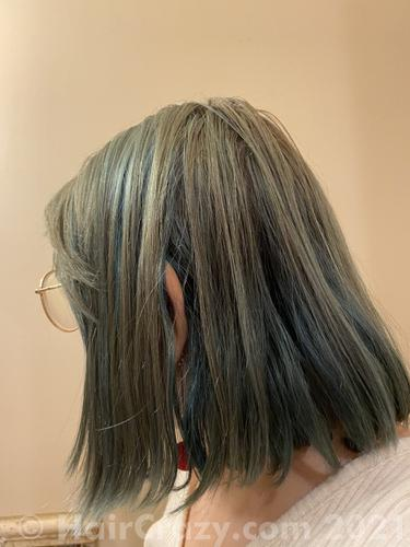 Current hair color