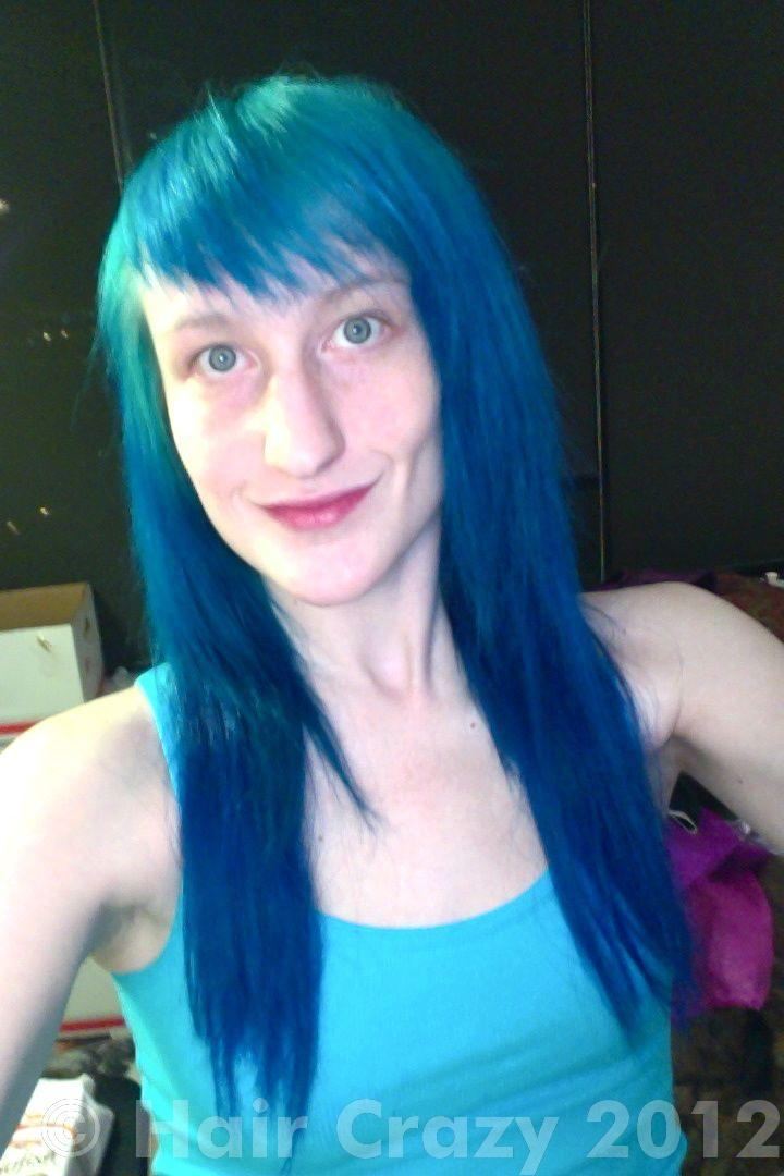 Wanting To Get Rid Of Blue Hair Tips Please
