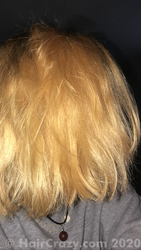 hair with flash