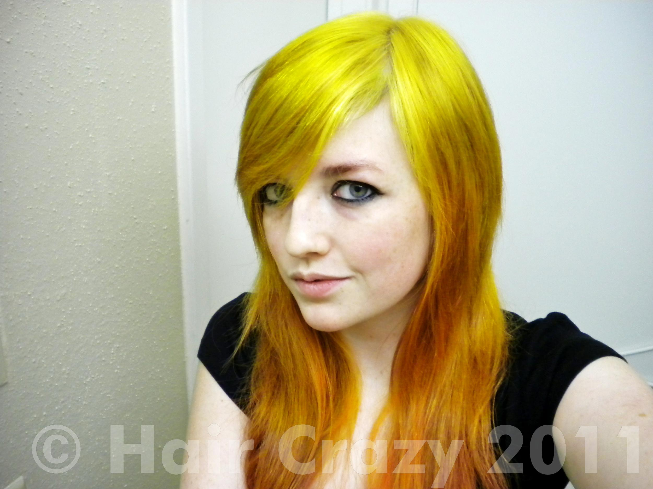 Red, Orange, and Yellow hair! - Forums - HairCrazy.com