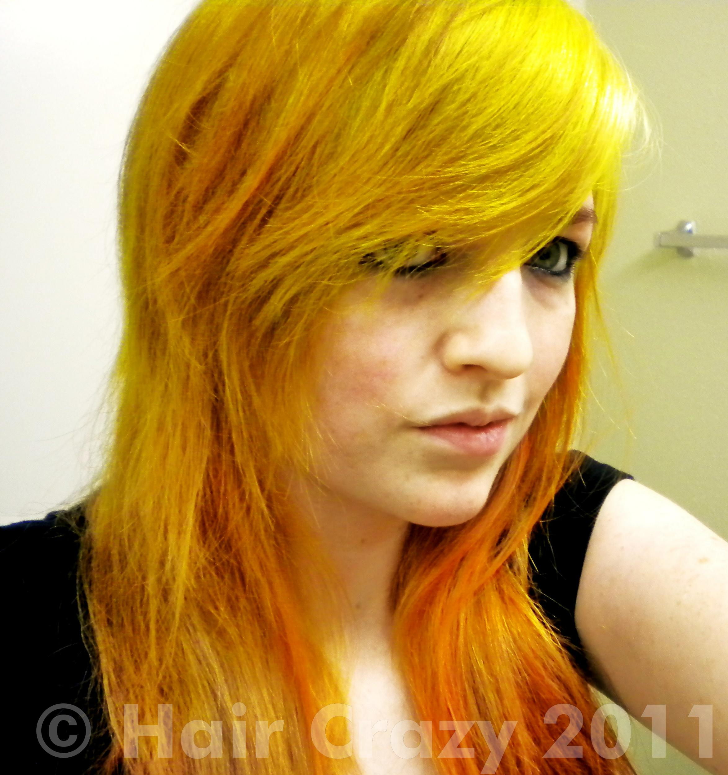 Red Orange And Yellow Hair Forums Haircrazy Com