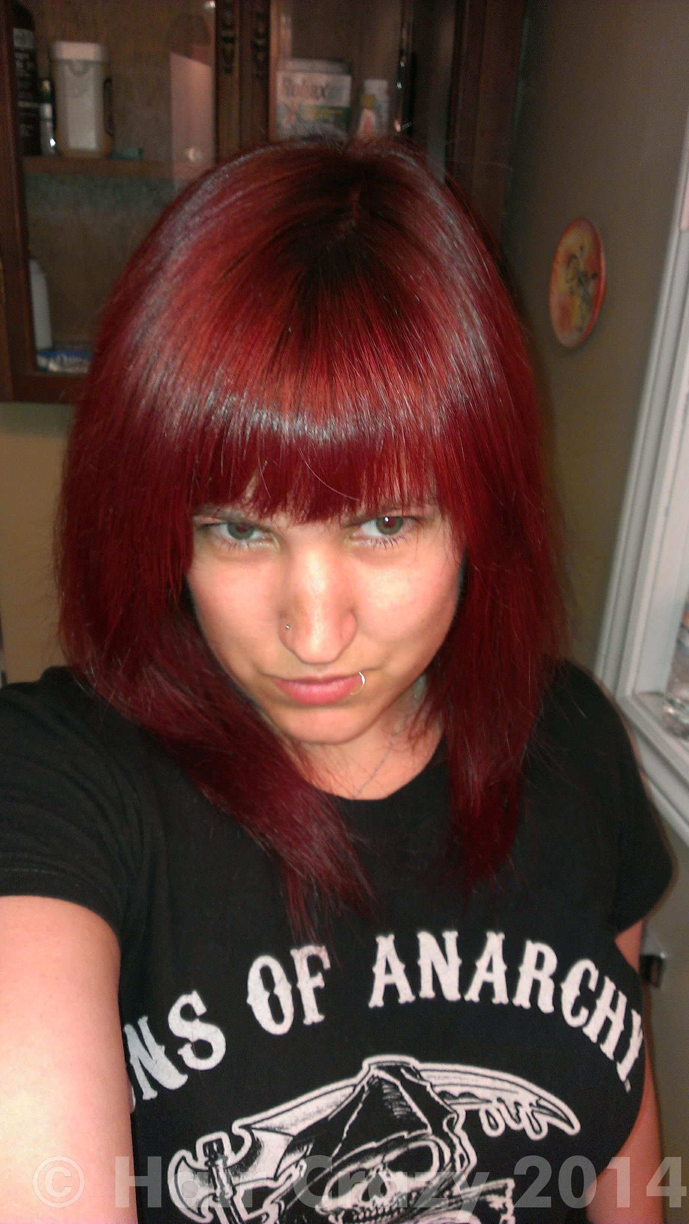 How To Get My Red Hair Purple Forums Haircrazy Com