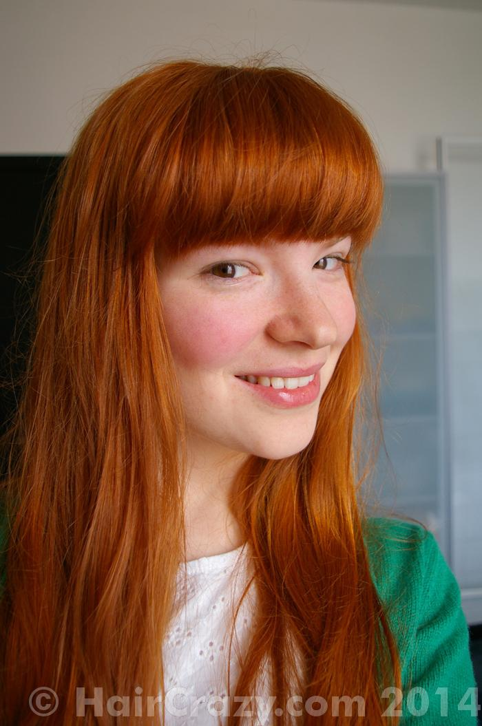 Is Orange A Natural Hair Color