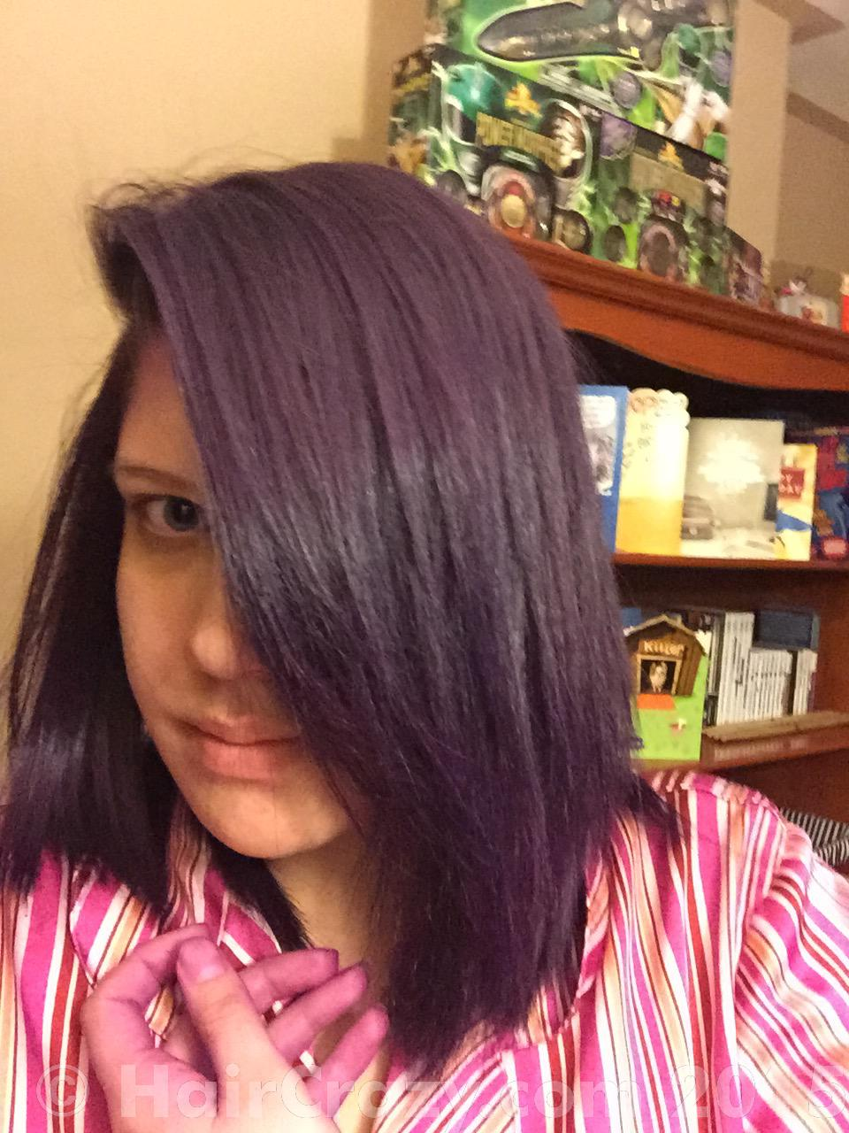 brightening the purple on natural hair forums