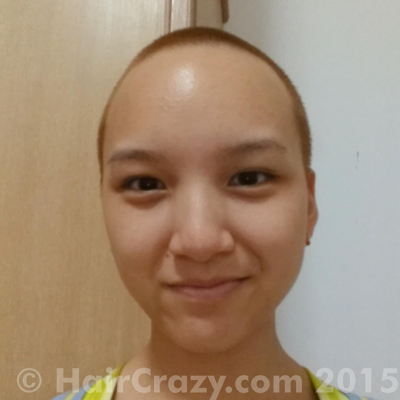 Amber Rose Blonde Aka Dyeing A Buzzcut Forums
