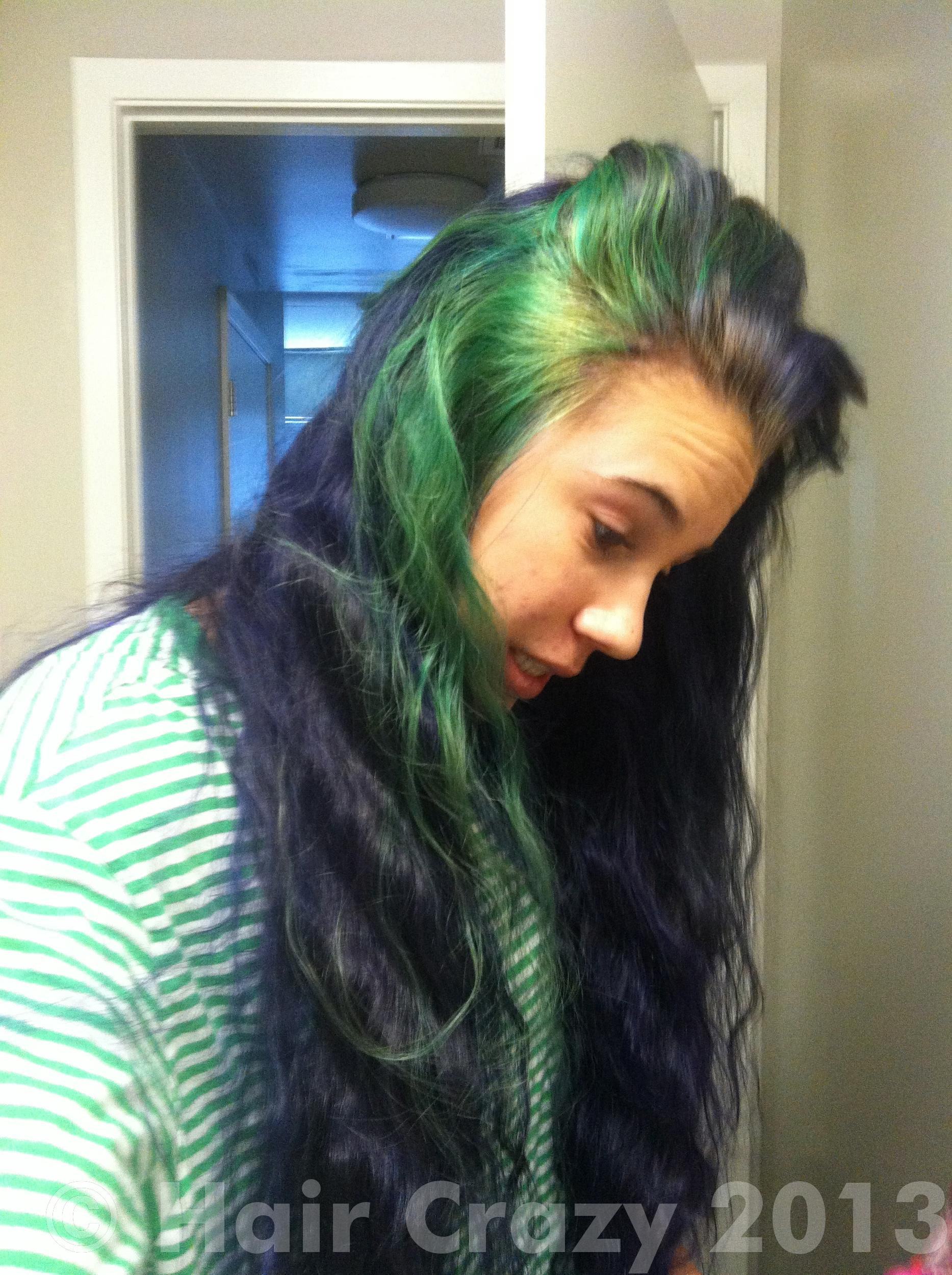 Brown To Green Ombre Hair Traffic Club