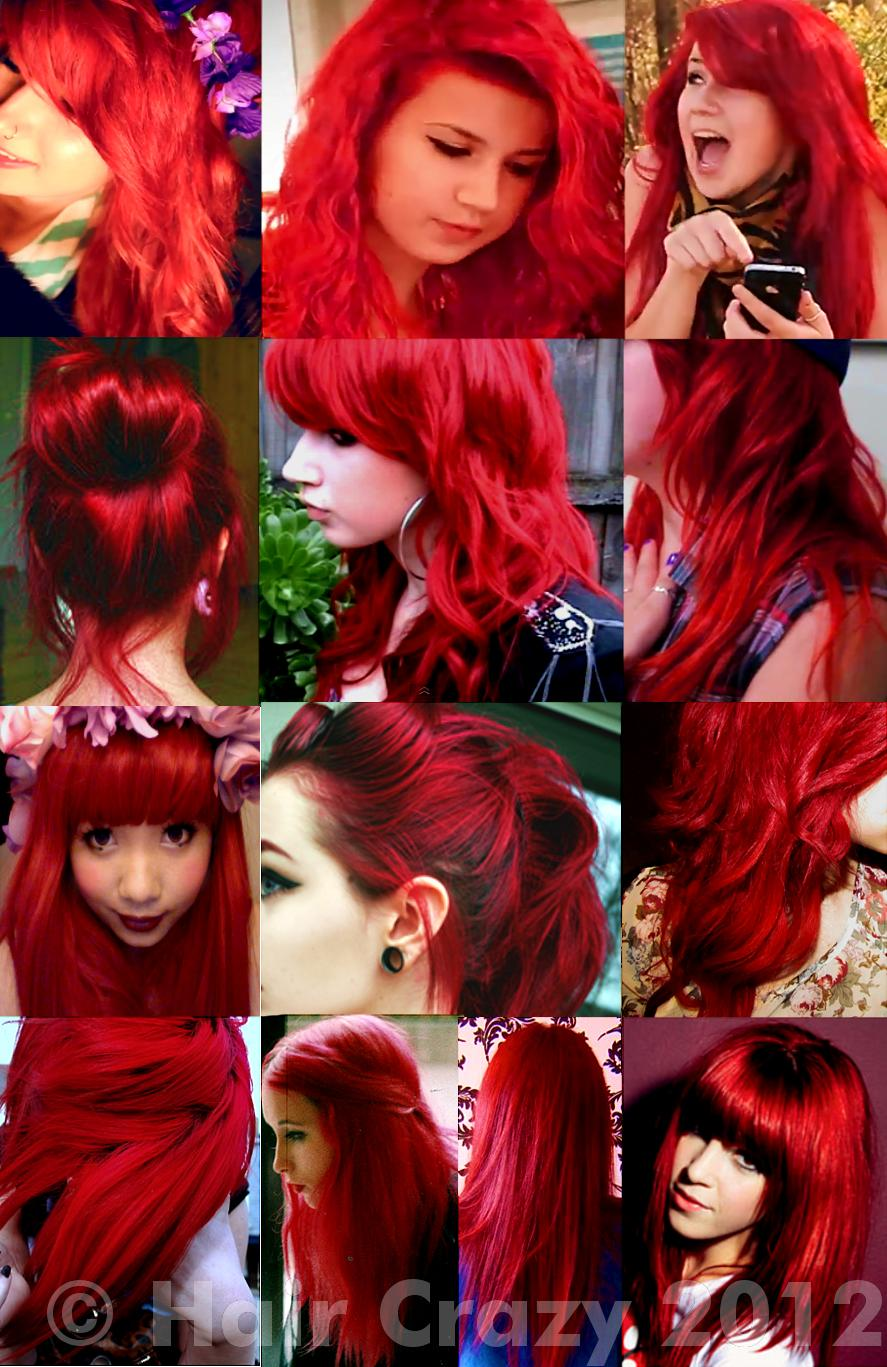 Bleaching and dyeing hair BRIGHT RED! :) - Forums ...