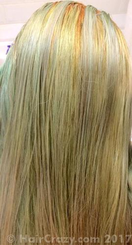 Current hair color. (need to bleach roots again)
