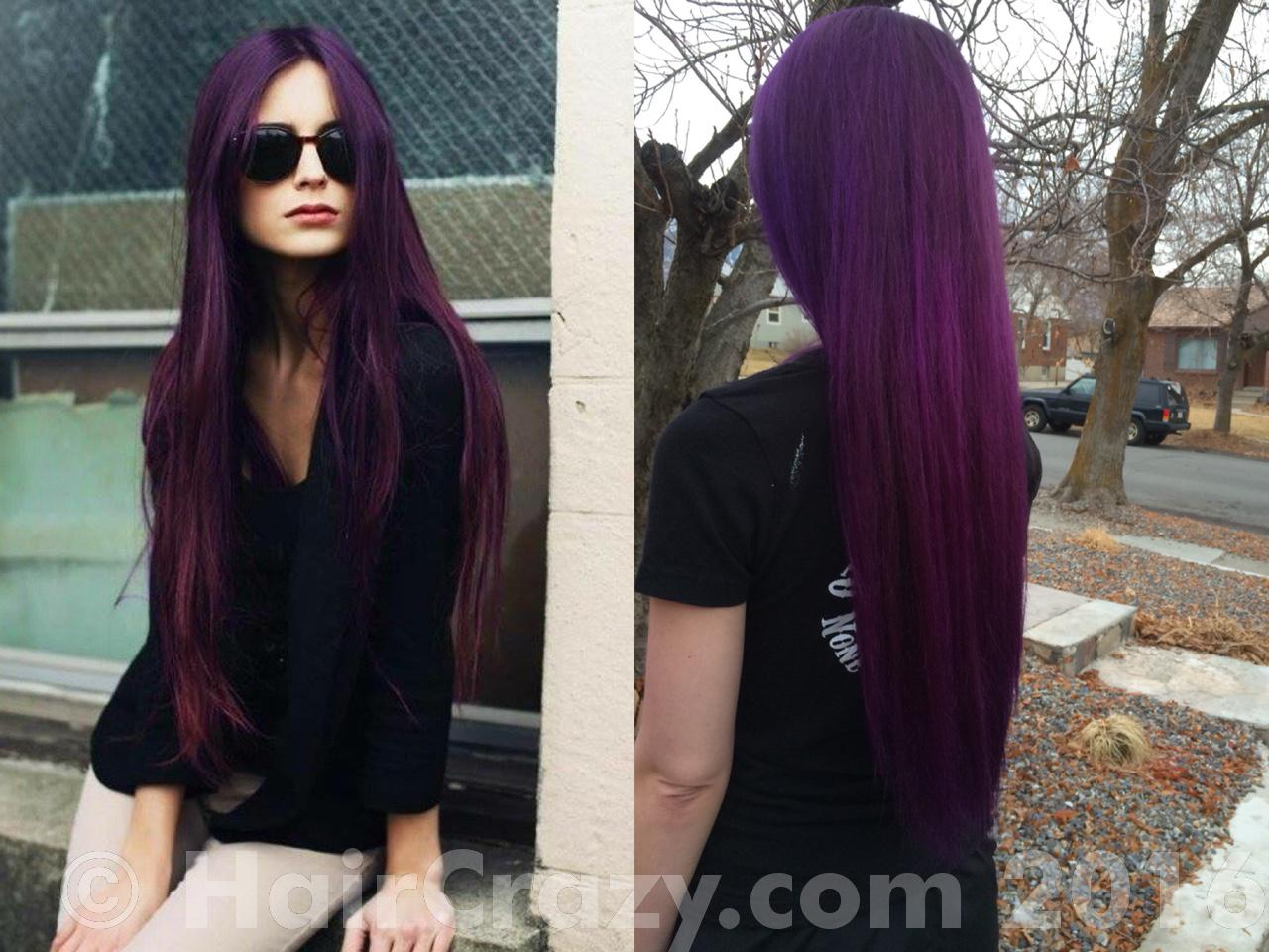 This Shade of Purple Without Bleach!!!!! Preferably manic panic ...