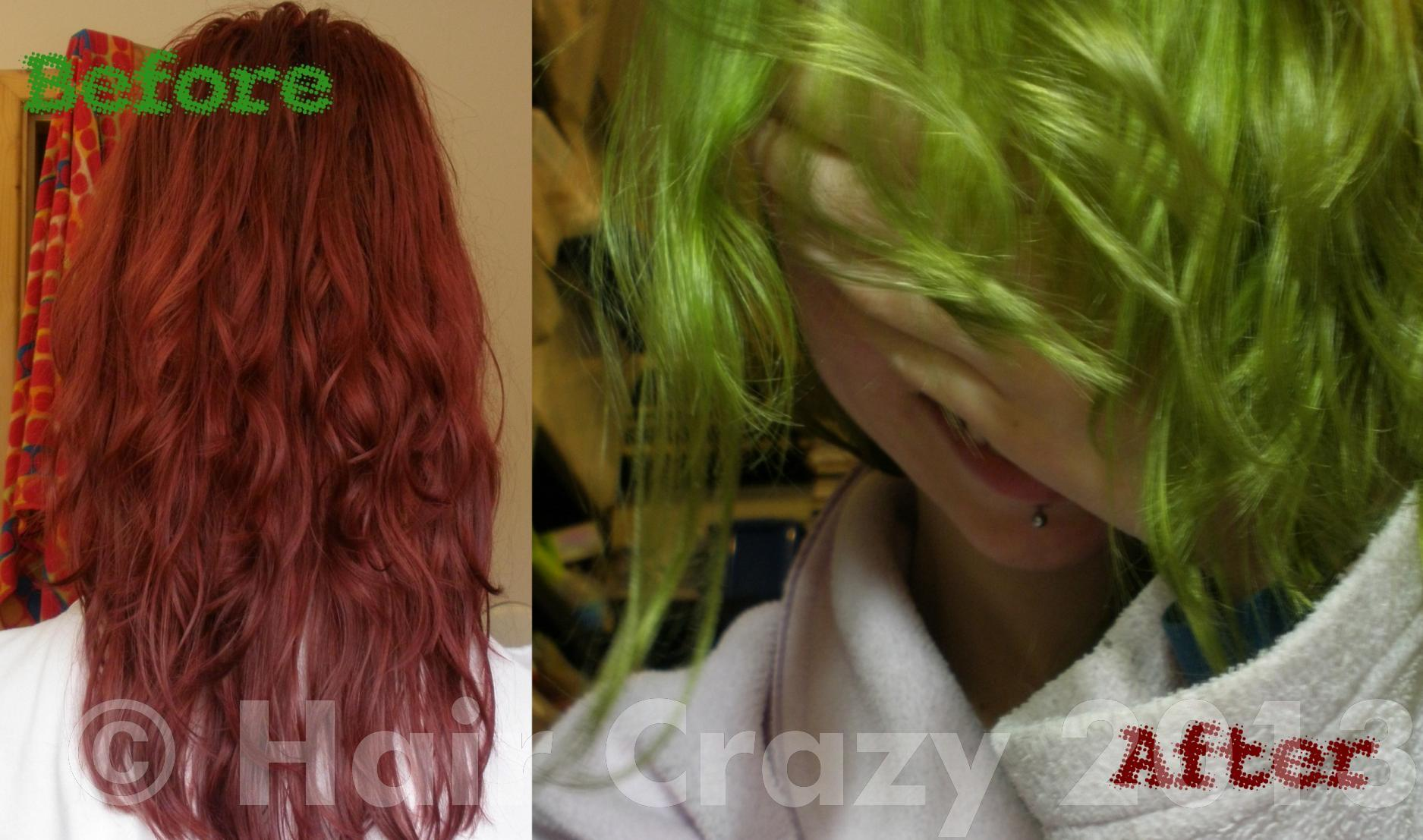 I Used Jobaz Colour Remover And Now Have Acid Green Hair