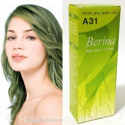 Looking to achieve an ashy light green - Forums - HairCrazy.com