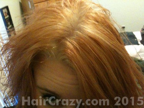 Orange Roots To Blue Greenish Hair Forums Haircrazy Com