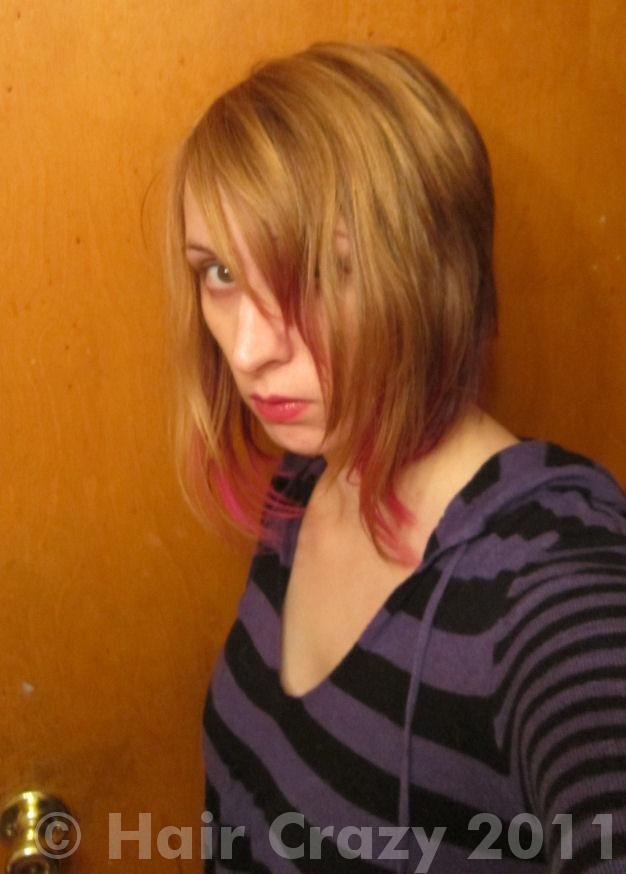 Can I dye my dark blonde hair light purple without bleaching? - Forums ...