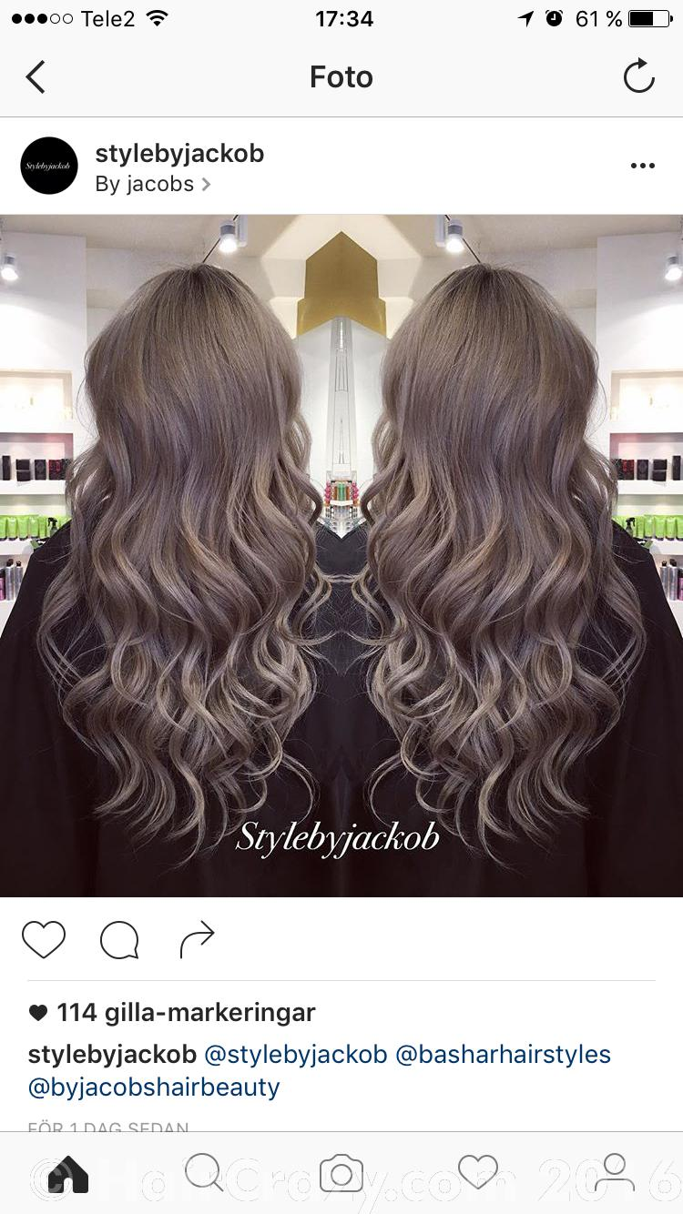 Black To Ash Grey Dark Blonde Forums Haircrazy Com