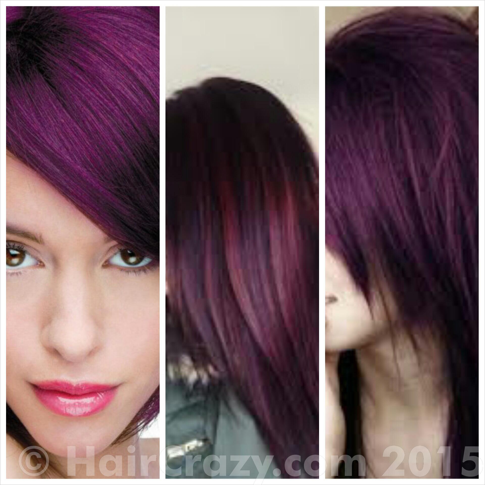 my hair goals - Crazy Color Aubergine