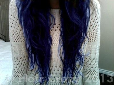 someone help me please bluer black hair forums