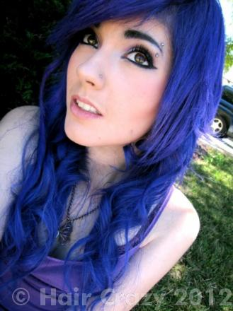 where to get scene haircuts best blue hair dye for my hair forums haircrazy 5686 | long blue hair