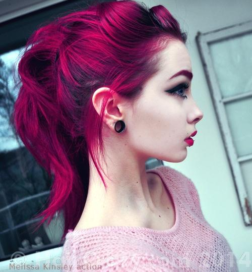 Help dying dark hair magenta for the first time - Forums - HairCrazy ...