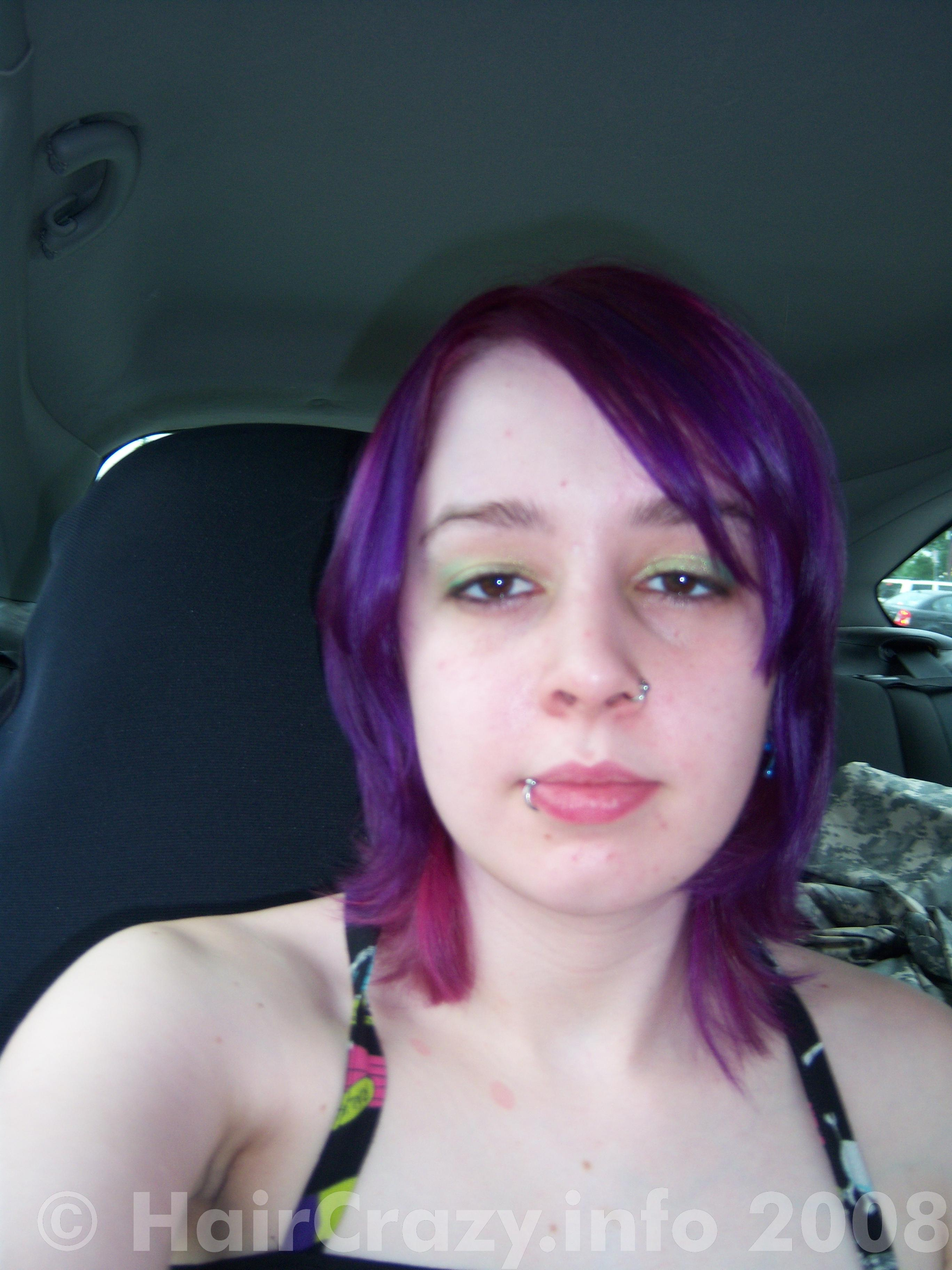 Raw Hair Color In Deep Purple Forums Haircrazy Com