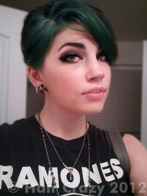 Going From Dark Brown Hair To Teal Without Bleaching