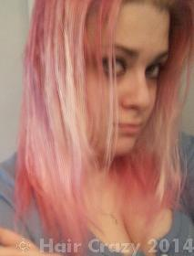 Using Color Oops After Bleaching And Going Pink To Green  Forums  Hair