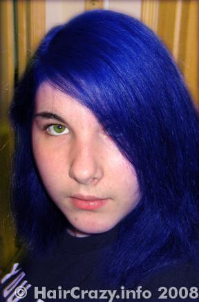 Electric BlueElectric Blue Hair