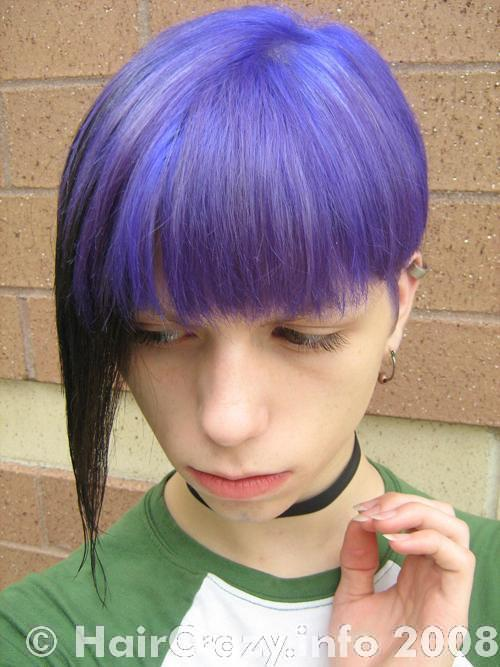 AdrianGlamourZombie using Manic Panic Ultra Violet - 22nd July 2008 5:02 a.m.
