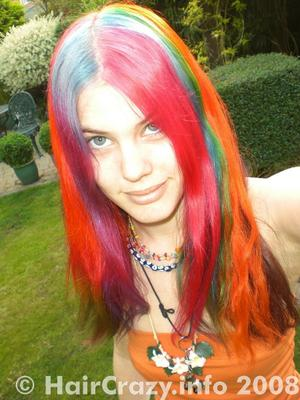 nikishii_vixen -   - Atomic Pink   - Blue Haired Freak   - Limelight   - Napalm Orange