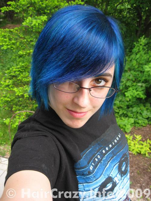 Stormith using -, Manic Panic Shocking Blue - 8th August 2009 11:07 p.m.
