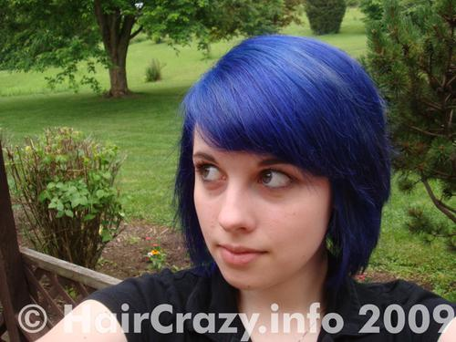 chaosxkitten using -, Special Effects Blue Haired Freak, Special Effects Blue Velvet - 14th June 2009 2:12 p.m.
