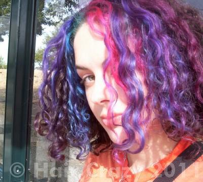 persephonesix using -, Deep Purple (Raw), Manic Panic Red Passion, Special Effects Fish Bowl - 5th July 2004 10:51 a.m.