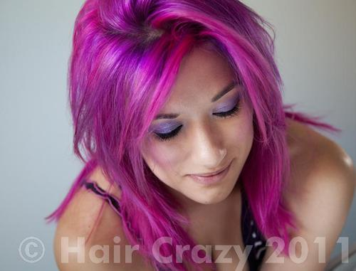 phoxtrot using -, Directions Flamingo Pink, Manic Panic Purple Haze - 27th August 2011 9:48 a.m.