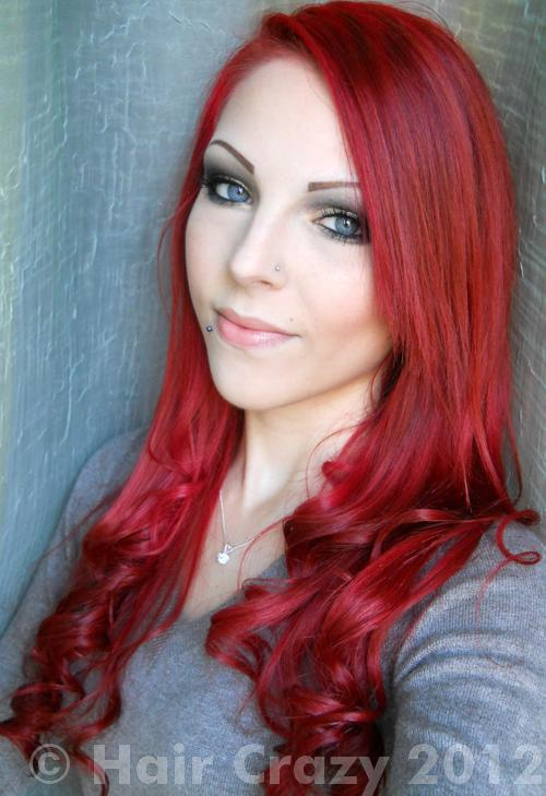 VanitysMakeUp using -, Directions Poppy Red - 28th November 2011 3:38 p.m.
