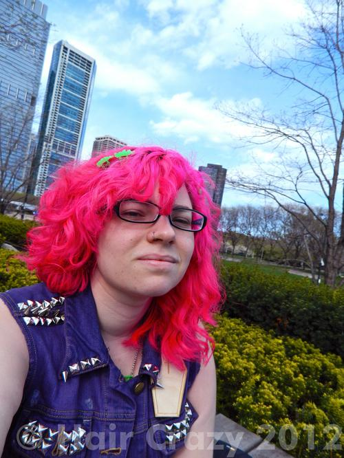 oldschoolghoul using Manic Panic Hot Hot Pink - 8th April 2012 4:54 p.m.