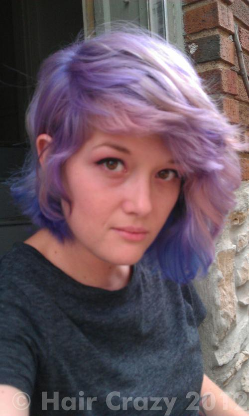 kitteh using 'N Purple, -, Manic Panic Purple Haze, other (not listed) - 24th August 2012 1:55 p.m.
