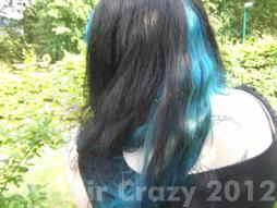 LadyLeighis's hair May 2012
