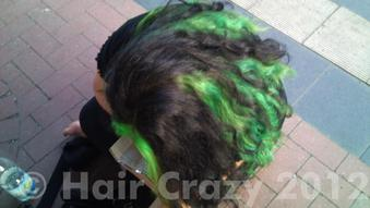 LadyLeighis's hair July 2012