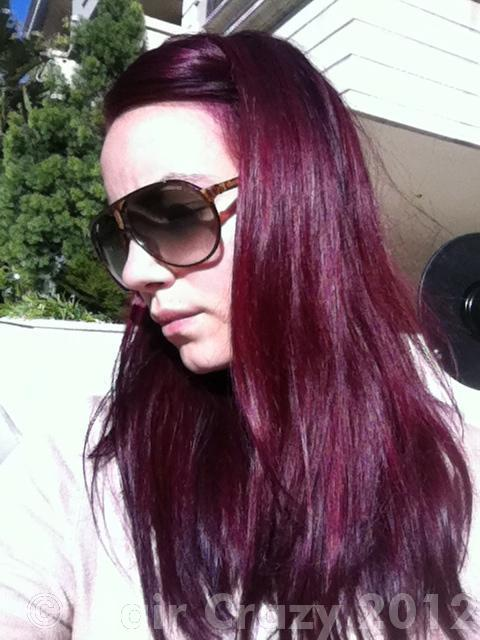 Amara's Special Effects - Burgundy Wine hair - HairCrazy.com