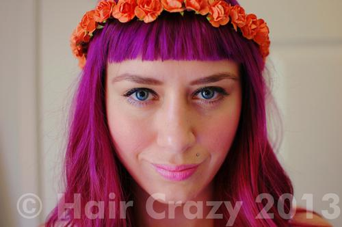 SouthernCaliforniaBelle using Platinum Toner, Special Effects Cupcake Pink, Special Effects Deep Purple - 21st April 2013 11:06 a.m.