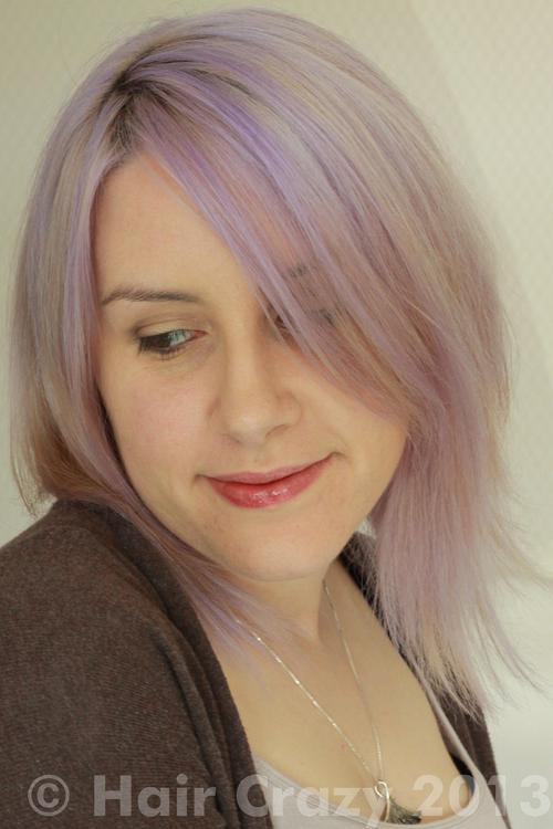 Jude using Directions White Toner, Pravana Silver, Pravana Violet - 8th June 2013 10:09 a.m.