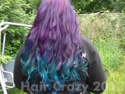 LadyLeighis's hair June 2013