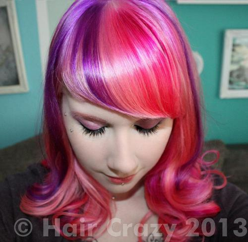 CiraLasVegas using -, Directions Carnation Pink, Directions Plum, Directions Rose Red - 13th November 2012 12:21 a.m.